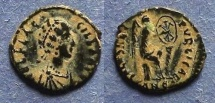 Ancient Coins - Roman Empire, Flaccilla 379-383, AE4