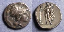 Ancient Coins - Lucania, Herakleia 278-276 BC, Nomos