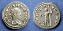 Ancient Coins - Roman Empire, Philip II (Caesar) 244-7, Antoninianus