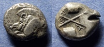 Ancient Coins - Lycia, Pre-Dynastic issue 520-470 BC, Stater