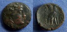 Ancient Coins - Seleucid Kingdom, Achaios 220-214 BC, AE18