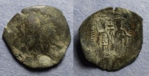 Ancient Coins - Byzantine Empire at Thessalonica, John Comnenus-Ducas as Emperor of Thessalonica 1237-42, Trachy