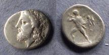 Ancient Coins - Thessaly, Aenianes 400-344 BC, Hemidrachm
