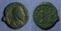 Ancient Coins - Roman Empire, Theodosius 379-395, AE4