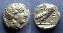 Ancient Coins - Athens,  393-350 BC, Tetradrachm