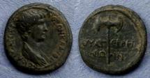 Ancient Coins - Lydia, Thyateira, Nero (as Caesar) 51-54, AE16