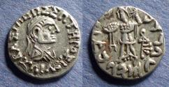Ancient Coins - Bactrian Kingdom, Zoilos II 65-55 BC, Drachm