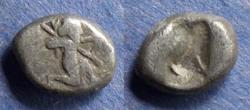 Ancient Coins - Achaemenid Kingdom,  500-485 BC, 1/3 Siglos (Rare with spear)
