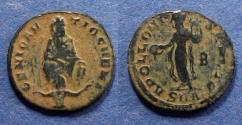 Ancient Coins - Roman Empire, Anonymous - Maximinus II 310-313, Quarter Follis