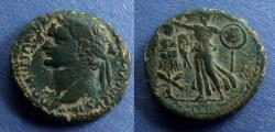 Ancient Coins - Judaea, Domitian 81-96, AE22