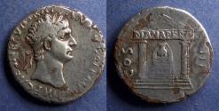 Ancient Coins - Roman Empire, Trajan 98-117, Fourree Tetradrachm