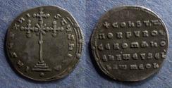 Ancient Coins - Byzantine Empire, Constantine VII & Romanus I 920-944, Miliaresion
