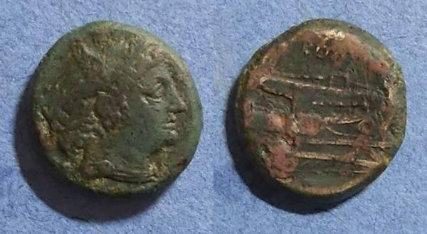 Ancient Coins - Roman Republic, Anonymous 217-215BC, Semuncia
