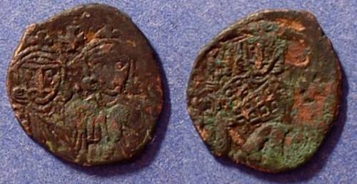 Ancient Coins - Byzantine Empire - Constantine V 751-775 Follis