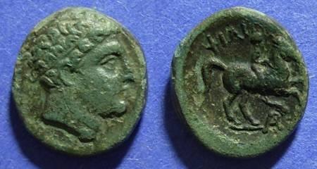 Ancient Coins - Macedonian Kingdom, Philip II 359-336 BC, AE18