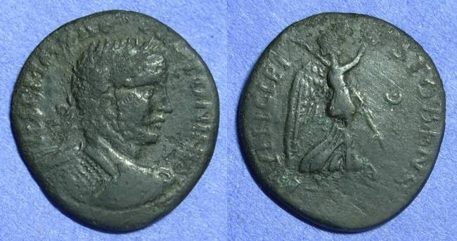 Ancient Coins - Stobi Macedonia – Caracalla 198-217  AE26