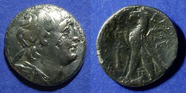 Ancient Coins - Seleucid Kingdom, Antiochos VII 138-129 BC, Didrachm