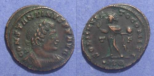 Ancient Coins - Roman Empire, Constantine 307-337, Follis