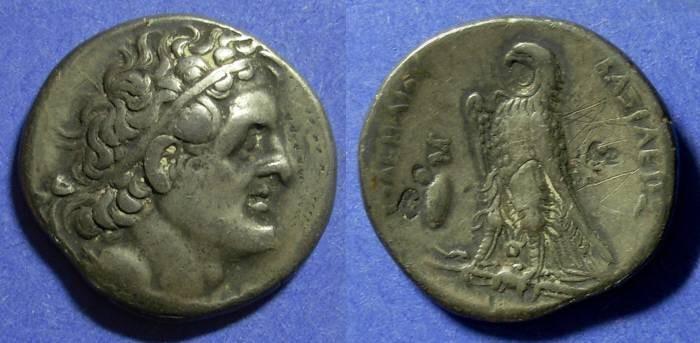 Ancient Coins - Egypt Ptolemy II 285-246 BC Tetradrachm