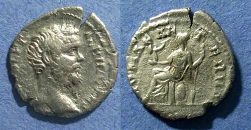 Ancient Coins - Roman Empire, Clodius Albinus (Caesar) 193-5 AD, Denarius