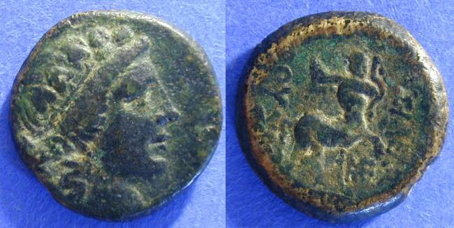 Ancient Coins - Kingdom of Bithynia - Prusias II 183-149 BC  AE19