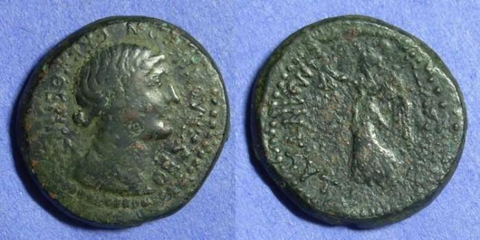 Ancient Coins - Thessalonika Macedonian – Marc Antony & Octavian 41-40 BC – AE28