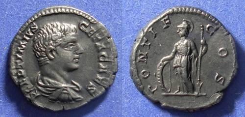 Ancient Coins - Roman Empire, Geta (Caesar) 198-209, Denarius