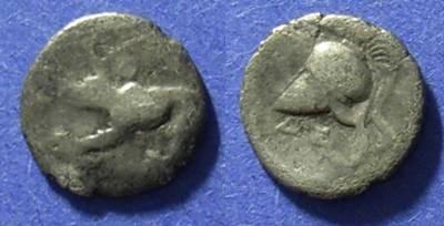 Ancient Coins - Argos Argolis 343-280 BC Obol