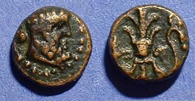Ancient Coins - Selge Pisidia AE-11  2nd to 1st century BC