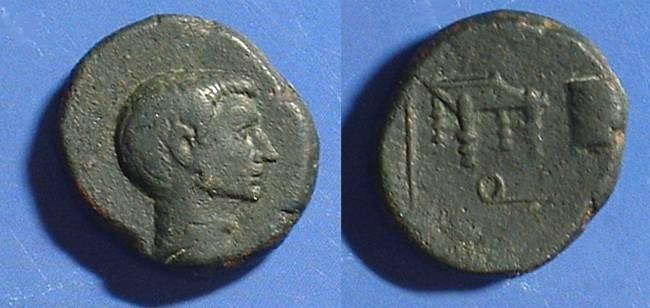 Ancient Coins - Gaius Sosius  Imperator Circa 38 BC  AE21