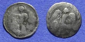 Ancient Coins - Kamarina Sicily - Litra 460-450BC