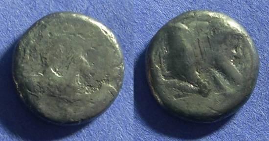 Ancient Coins - Gela Sicily – Didrachm 490-480BC
