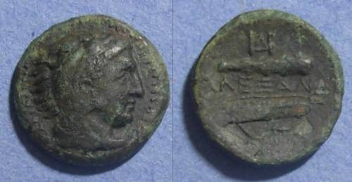 Ancient Coins - Macedonian Kingdom, Alexander III 336-323 BC, AE19
