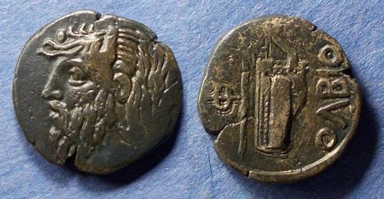Ancient Coins - Skythia, Olbia 310-280 BC, AE23