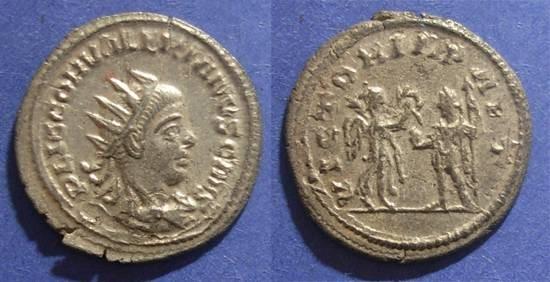 Ancient Coins - Roman Empire, Valerian II 256-8, Antoninianus