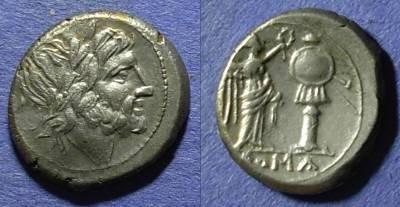Ancient Coins - Roman Republic, Anonymous Circa 200 BC, Victoriatus