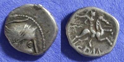 Ancient Coins - Allobroges – Gaul, Quinarius Circa 70-50 BC