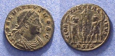 Ancient Coins - Delmatius - Caesar 335-7AD AE3/4