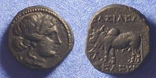 Ancient Coins - Seleucid Kingdom - Seleukos II 246-226BC AE15