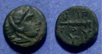 Ancient Coins - Macedonian Kingdom, Philip II 359-336 BC, 1/4 unit