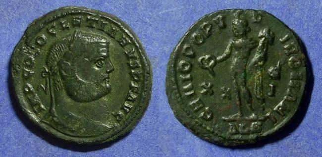 Ancient Coins - Diocletian 284-305AD Follis