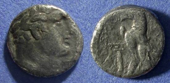 Ancient Coins - Tyre, Phoenicia 37/8 AD, Half Shekel