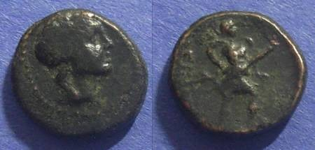 Ancient Coins - Magnetes, Thessaly 196-146 BC, AE15