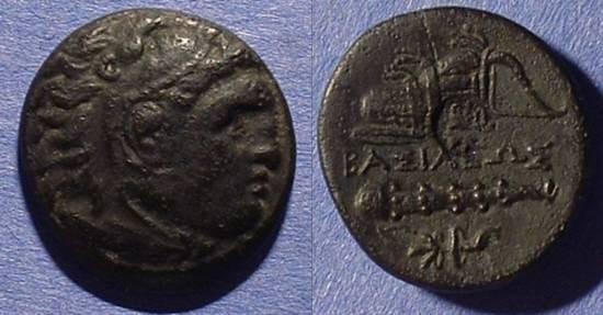 Ancient Coins - Macedonian Kingdom - Alexander III 336-323 Posthumous AE20 323-310 BC