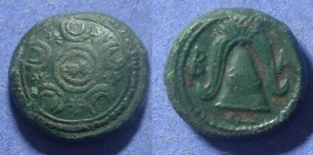 Ancient Coins - Macedonian Kingdom, Interregnum 288-277 BC, AE16