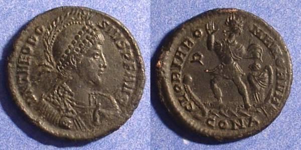 Ancient Coins - Theodosius 379-395 - AE2