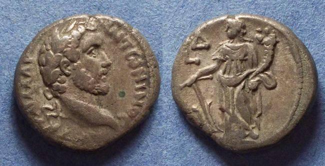 Ancient Coins - Roman Egypt, Antoninius Pius 138-161, Tetradrachm