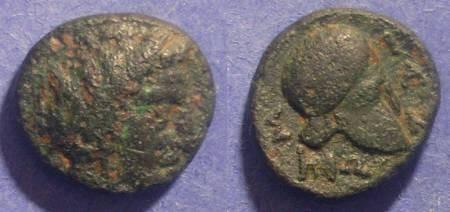 Ancient Coins - Skione, Macedonia 400-350 BC, AE17