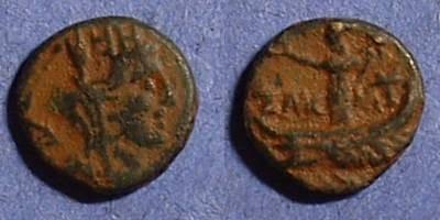 Ancient Coins - Tyre Phoenicia AE11 Circa 100 BC