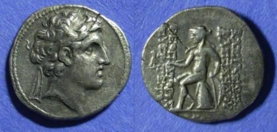 Ancient Coins - Seleucid Kingdom, Alexander I Balas 150-145 BC, Drachm